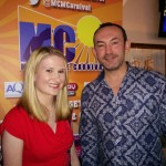 Becky and Danny from The Bay at MC15 Race Night