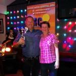 Mally Nickelson Memorial Cup winner Darren Mills