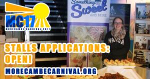 Morecambe Carnival Stalls Applications