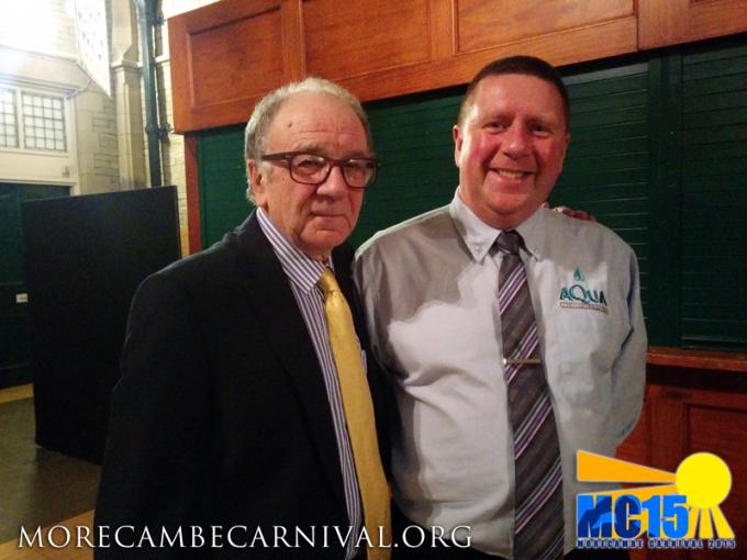 Jim Cadman and David Brayshaw - Sunshine Garden of Fame