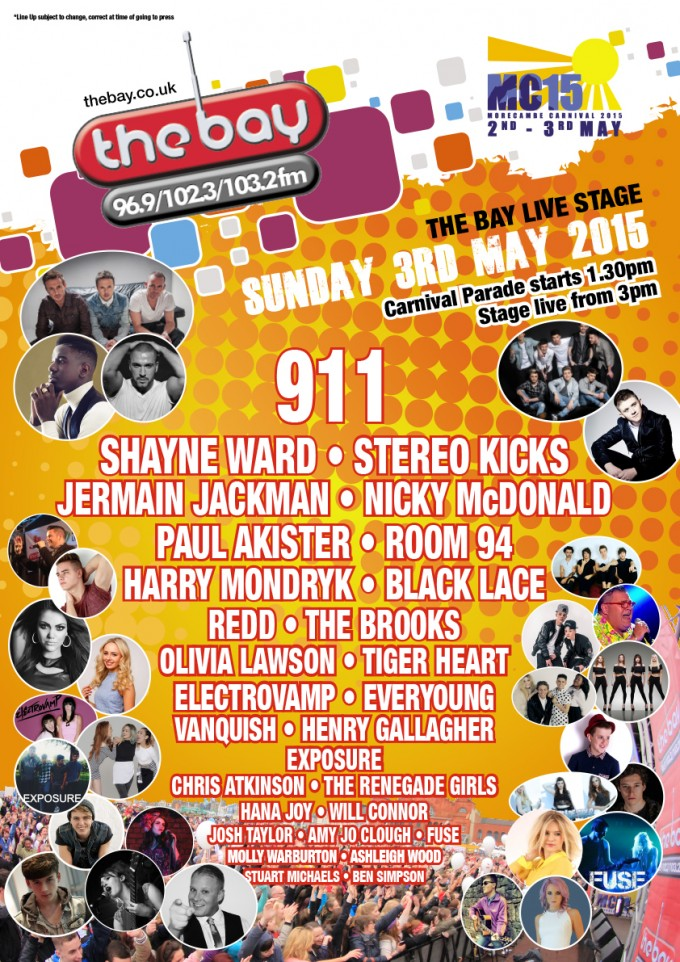 MC15 Stage Poster