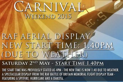 RAF Display Time Change