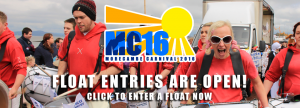 MC16 Float entries are open! Become part of the Morecambe Carnival today