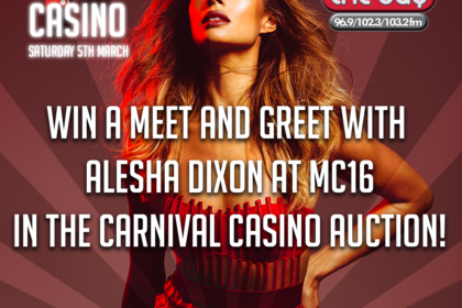 Win a Meet and Greet with Alesha Dixon at Carnival Casino