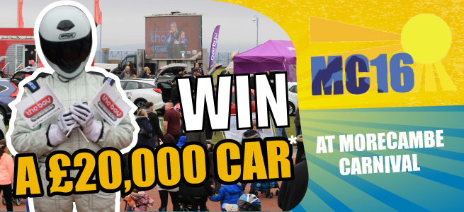 Win a £20000 Car with The Bay at MC16