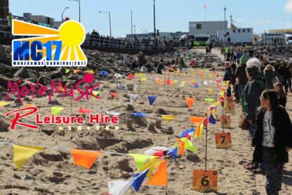 2017 Morecambe Carnival Sandcastle Competition