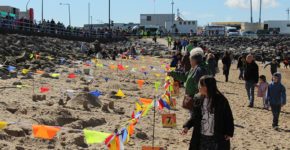 Morecambe Carnival Sandcastle Competition 1