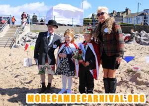 Morecambe Carnival Sandcastle Competition 2