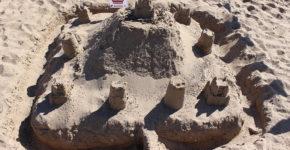 Morecambe Carnival Sandcastle Competition 4